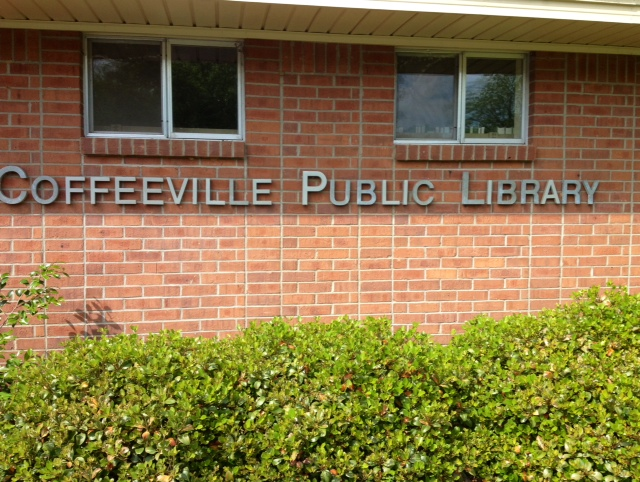 Coffeeville-Public-Library-sign-5-8-2014